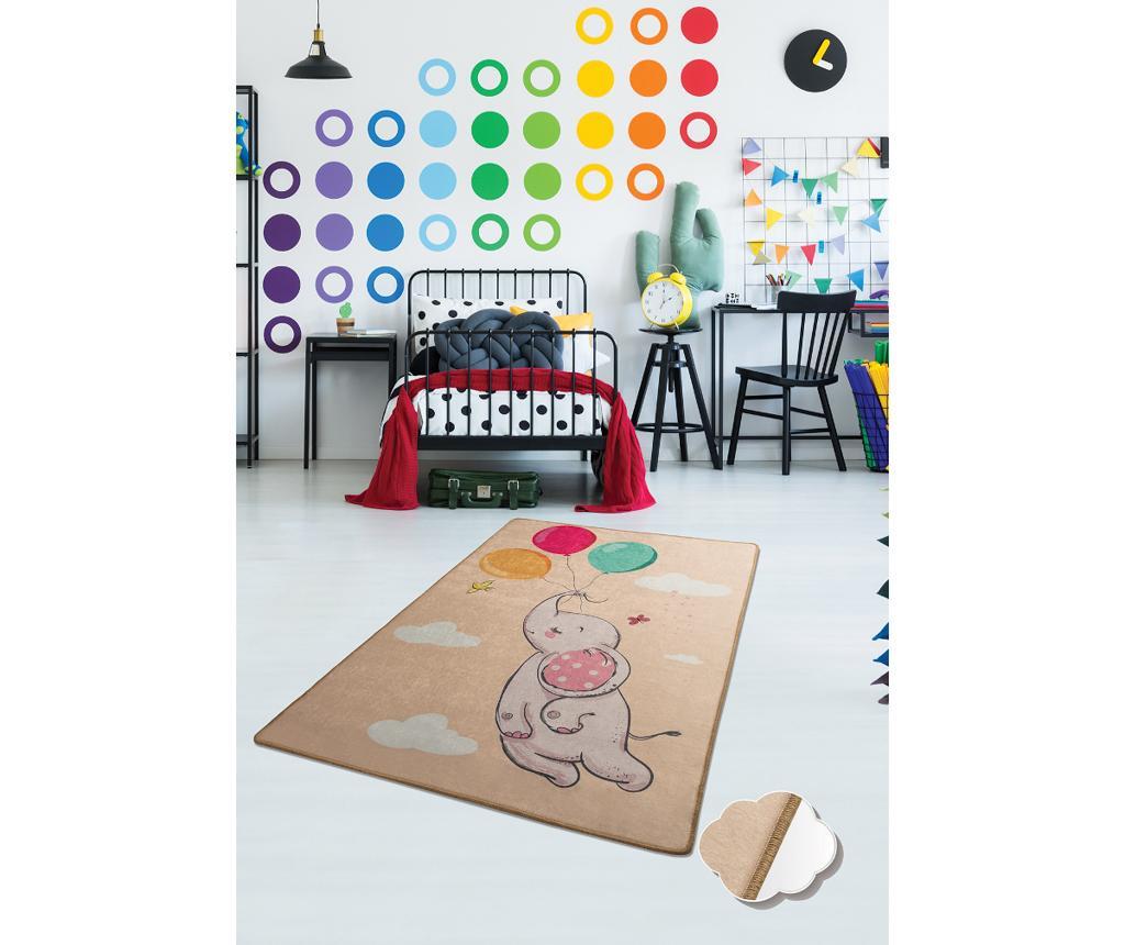 Tepih Elephant Baloon Brown 100x160 cm
