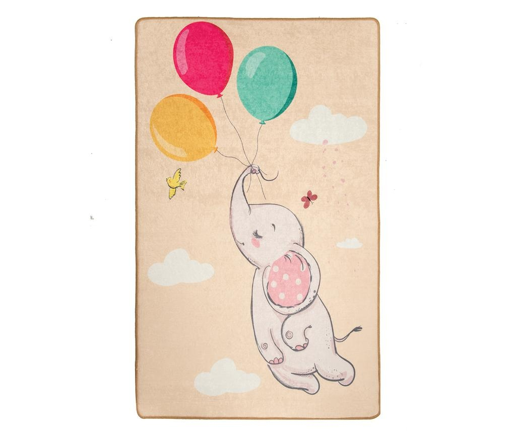 Covor Elephant Baloon Brown 140x190 cm