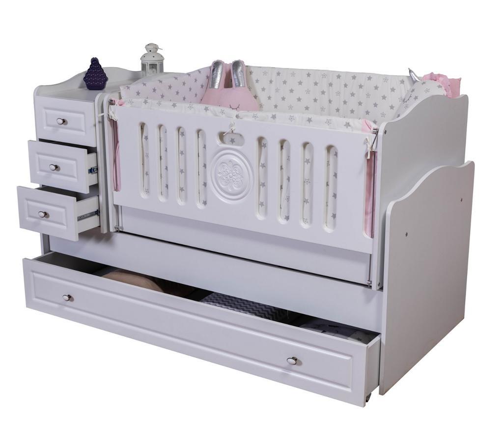 Otroška postelja 3 v 1 Baby Grow Circle