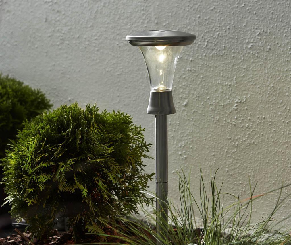 Set 2 solarnih talnih svetilk Turin