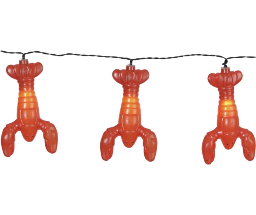 Zunanja svetlobna girlanda Crayfish
