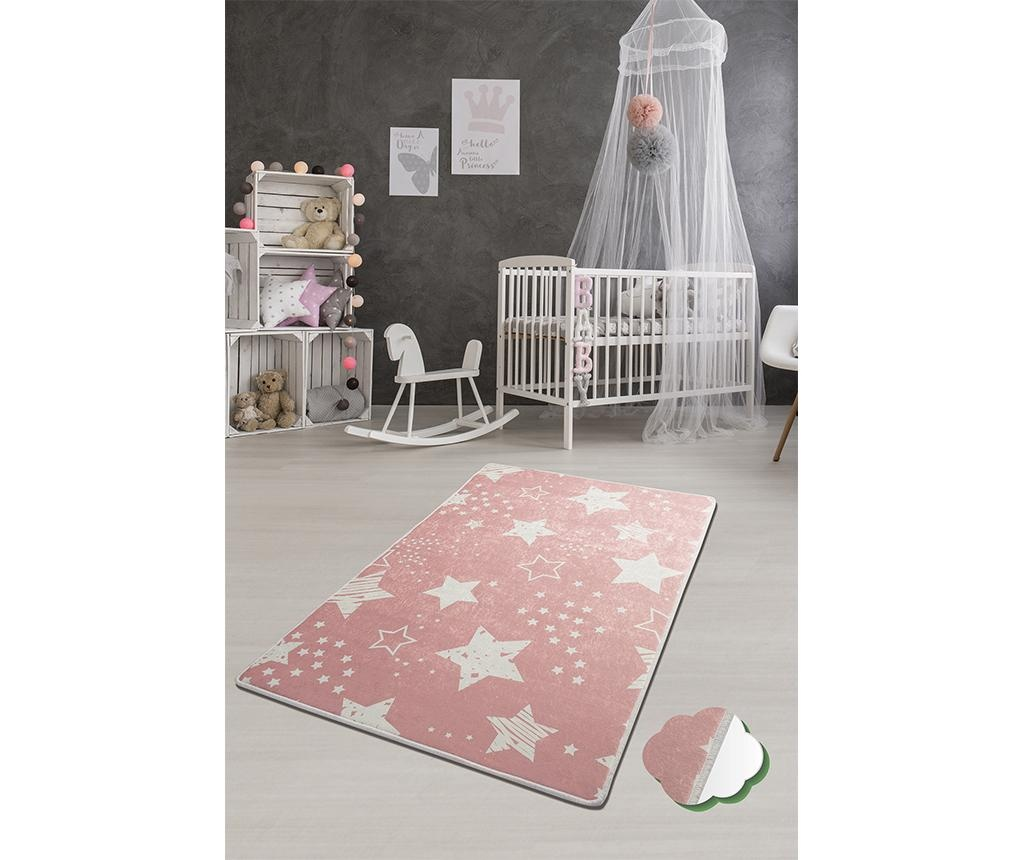Covor Stars Pink 100x160 cm