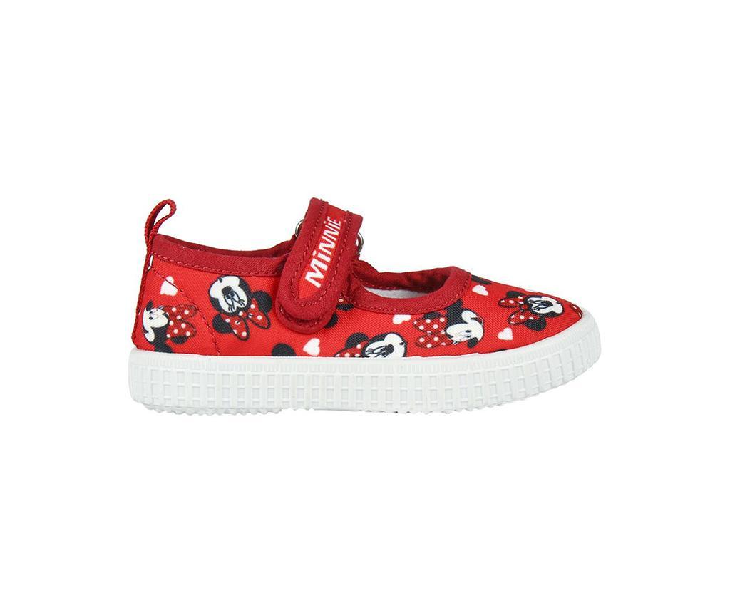 Otroški športni čevlji Minnie Ballerinas Red 26