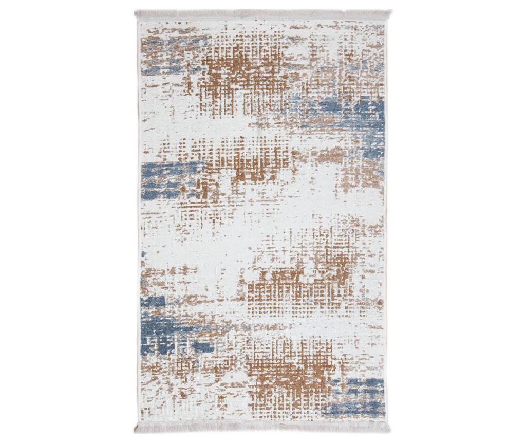 Tepih Blur Beige Blue 75x150 cm