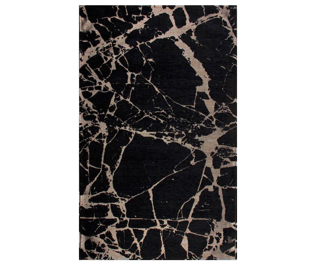 Preproga Ice Black Gold 120x180 cm