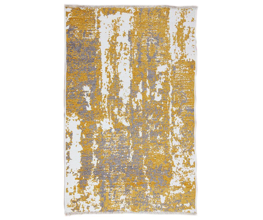 Tepih Spread Yellow Grey 75x300 cm