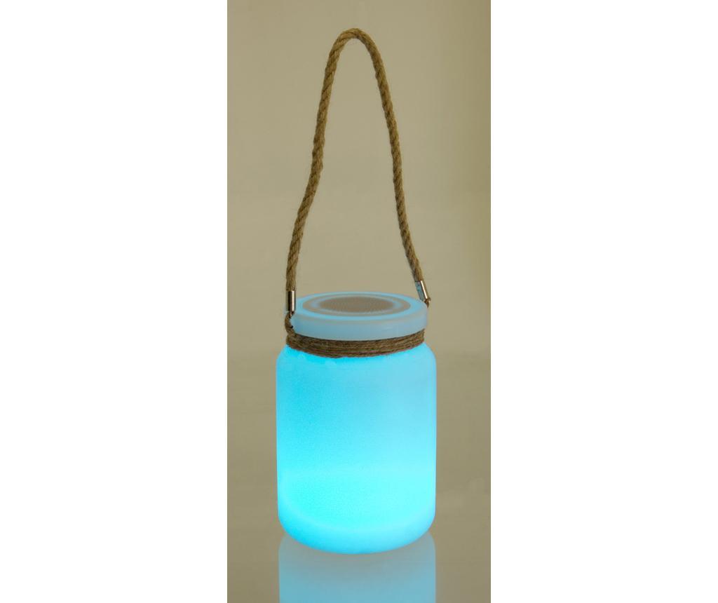 Prenosni zvočnik z LED lučko Rope