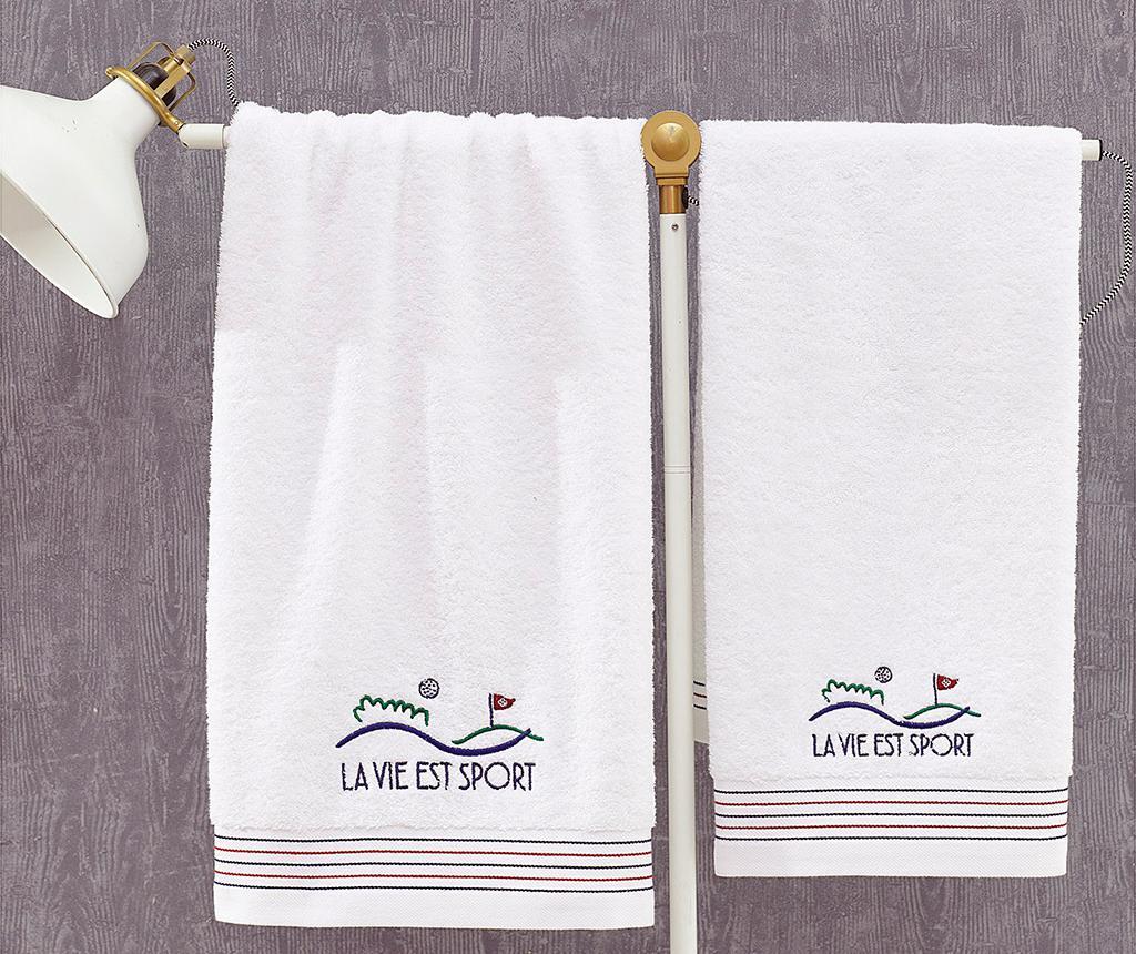 Kupaonski ručnik Marie Claire La Vie Sportive 50x100 cm