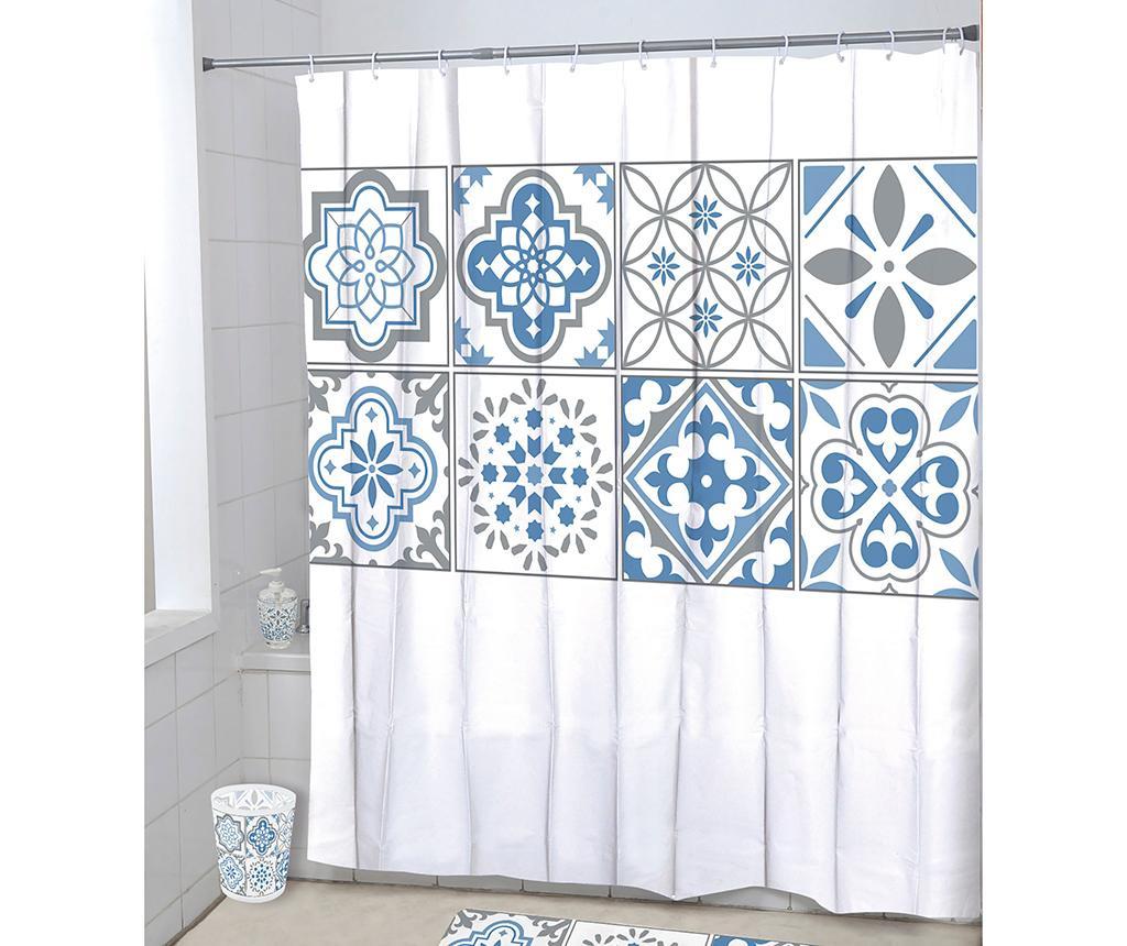 Zavesa za prho Leontine Macro 180x180 cm