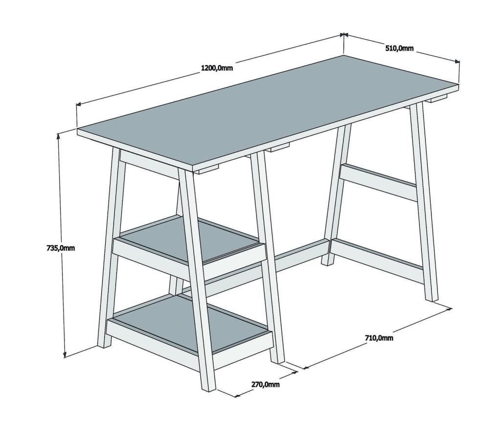 Perla Íróasztal