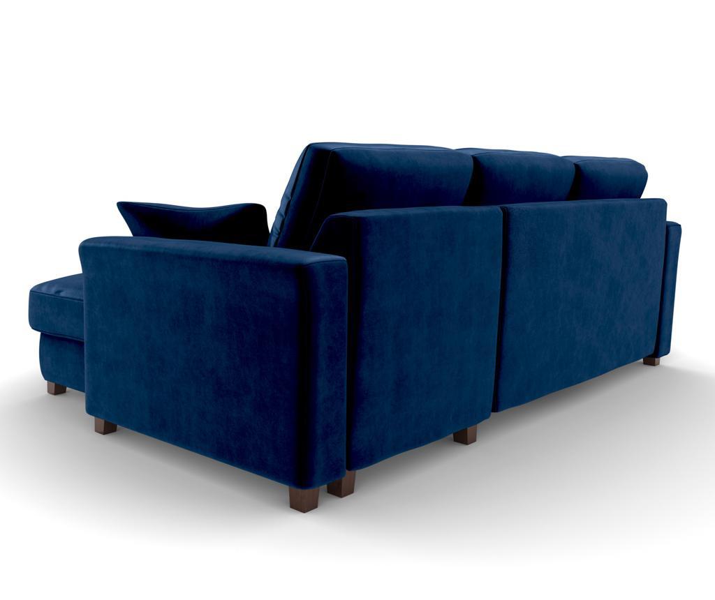 Coltar reversibil si extensibil Relax Royal Blue