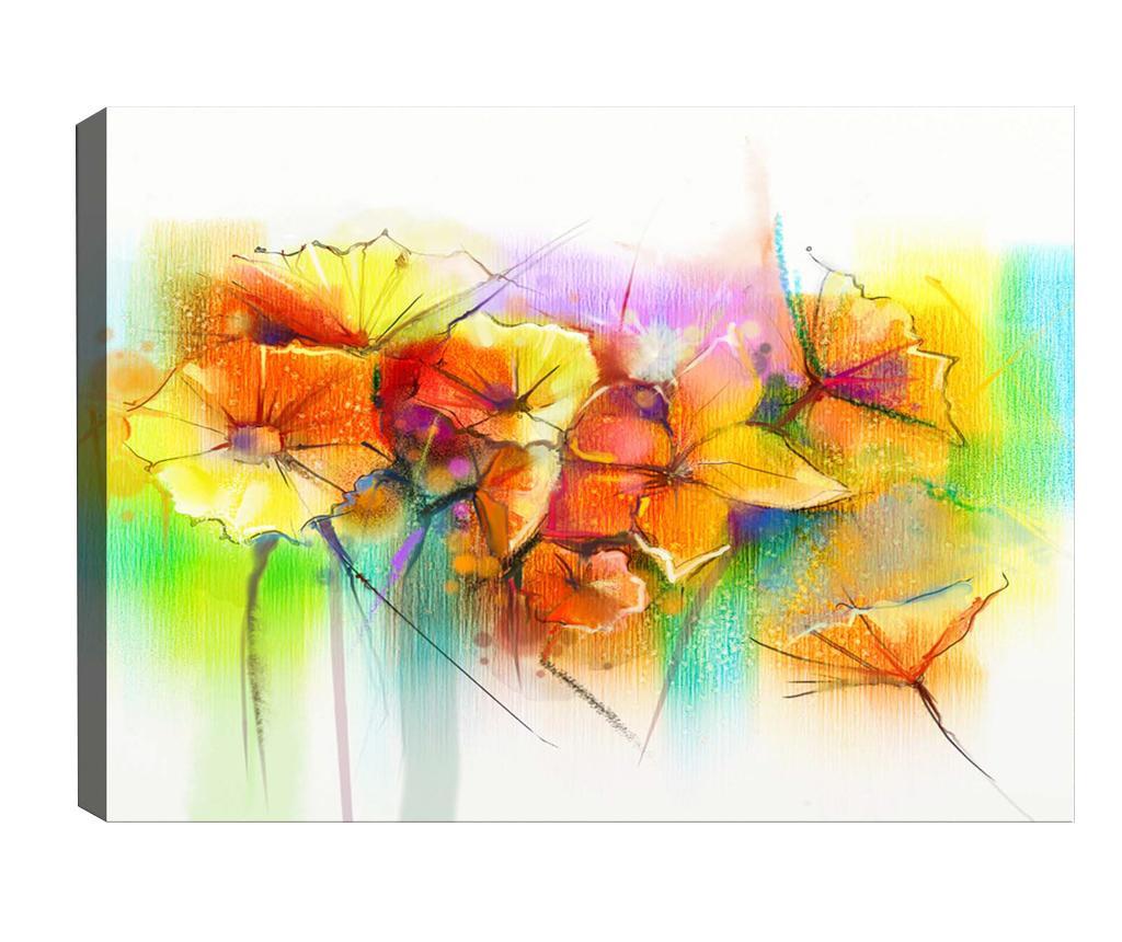 Tablou Yellow Flowers 50x70 cm