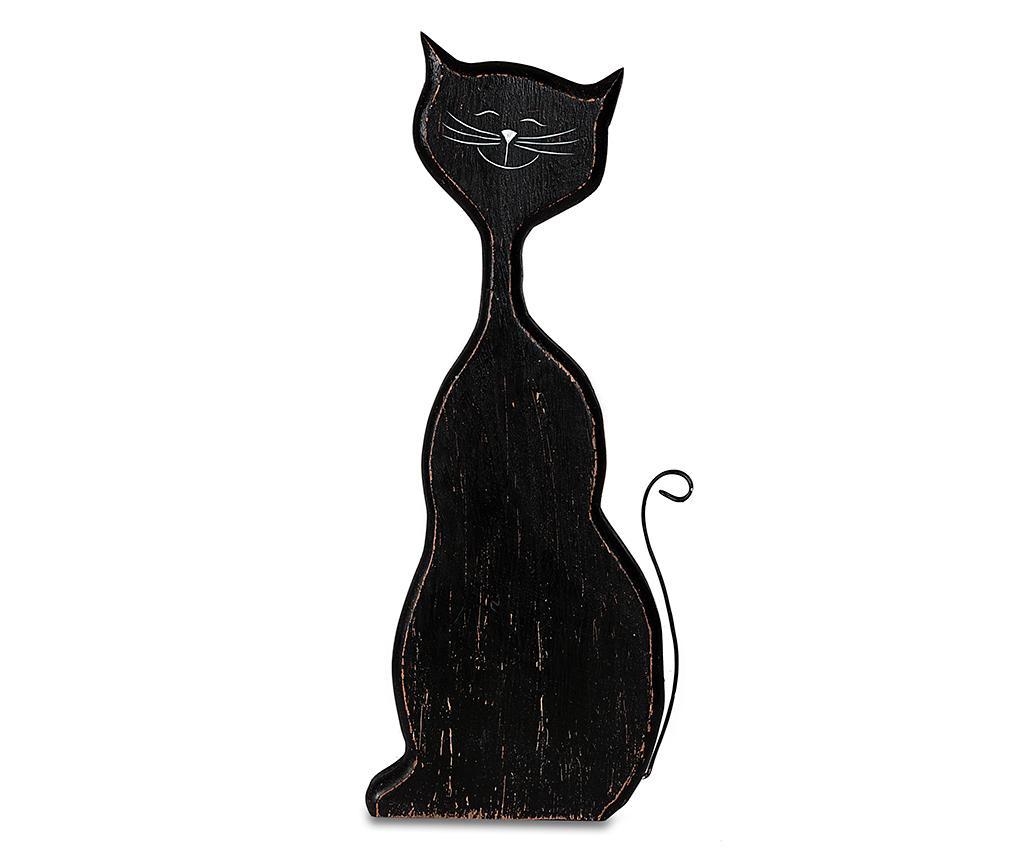 Decoratiune Black Cat