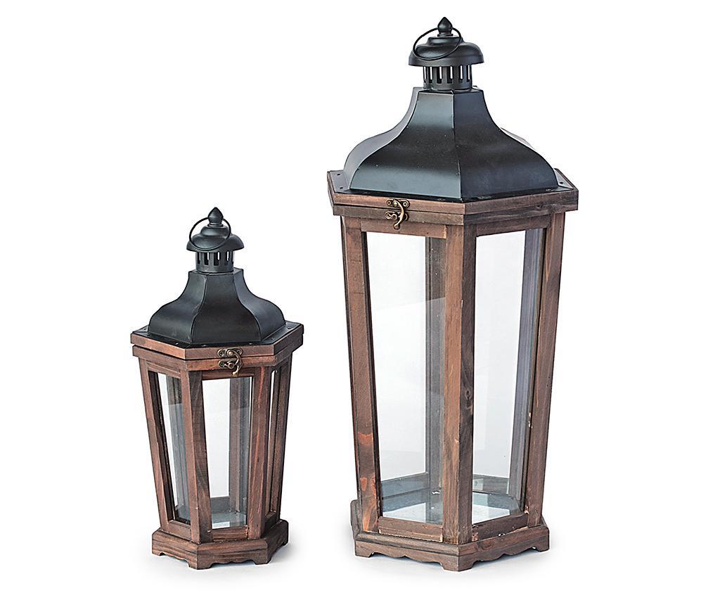 Set 2 lantern Capital