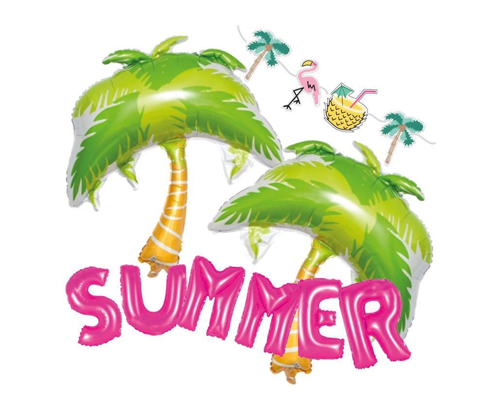 Set 9 dekoracij za zabave Aloha Summer