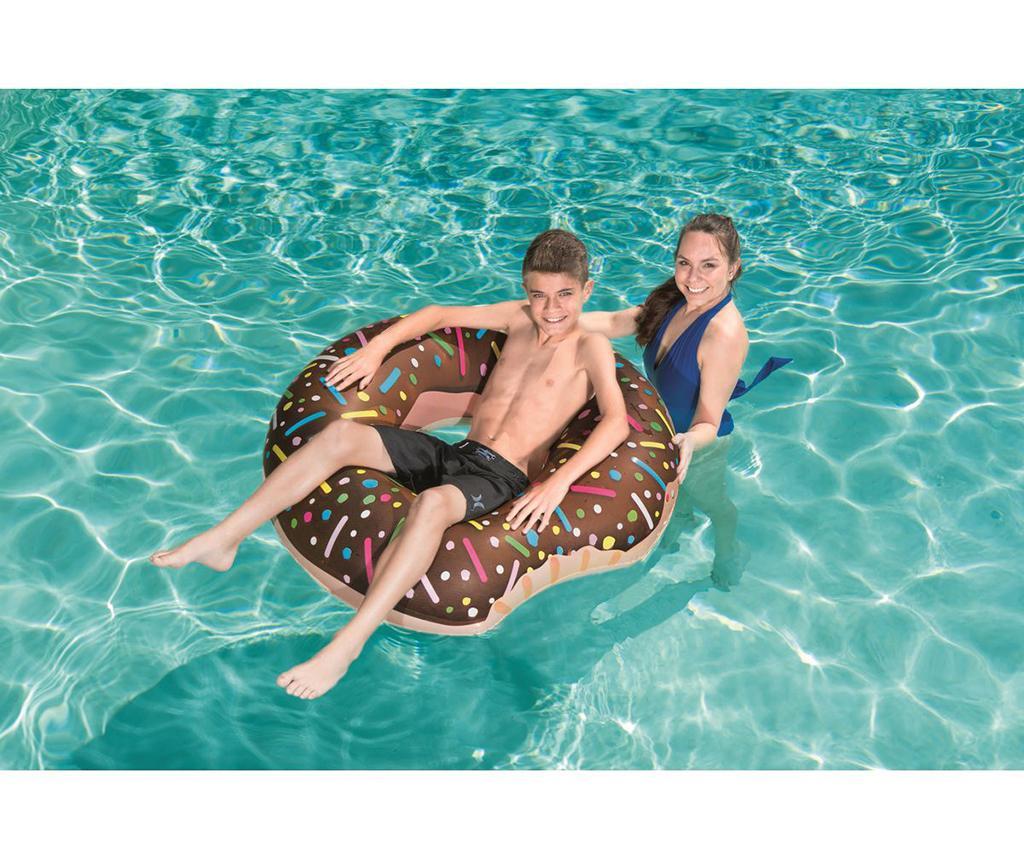 Koło do pływania Donut Brown