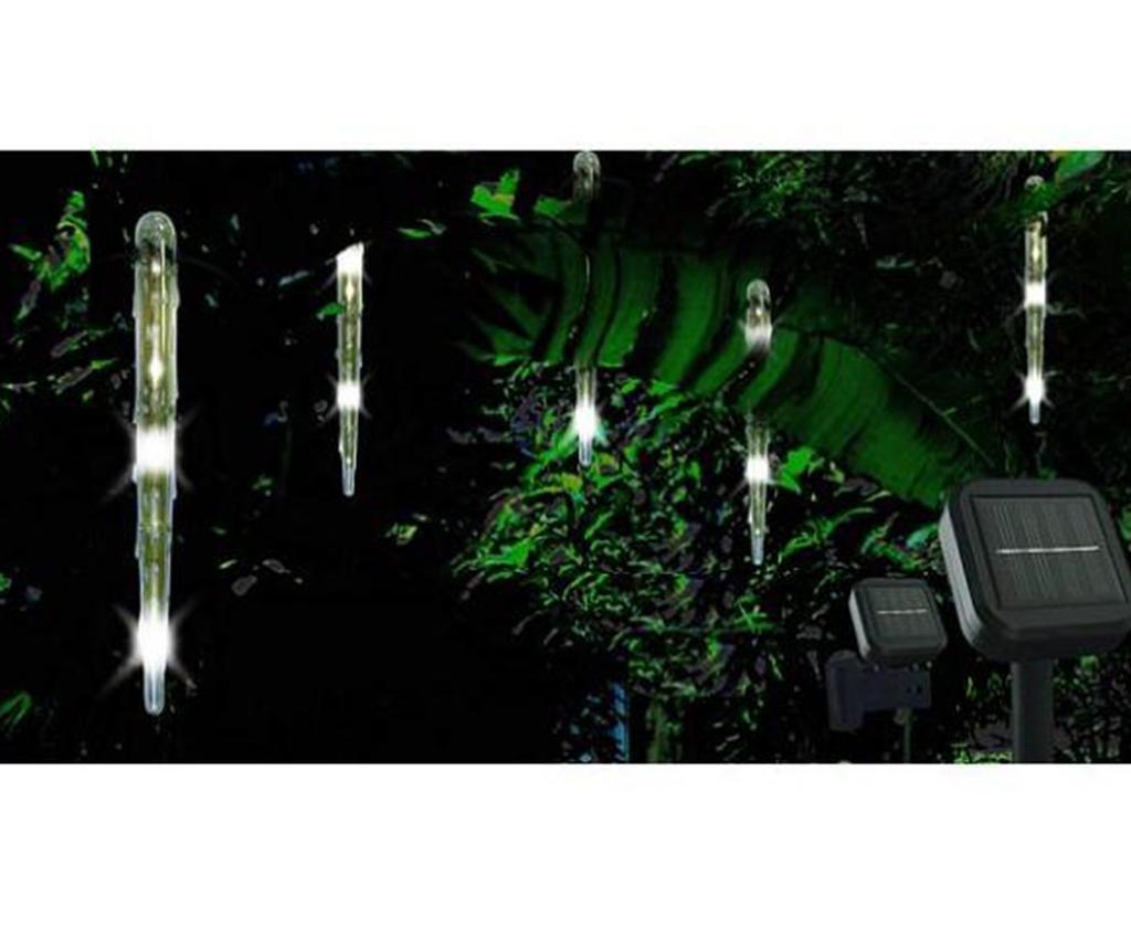 Set 5 solarnih svjetiljki Icicle