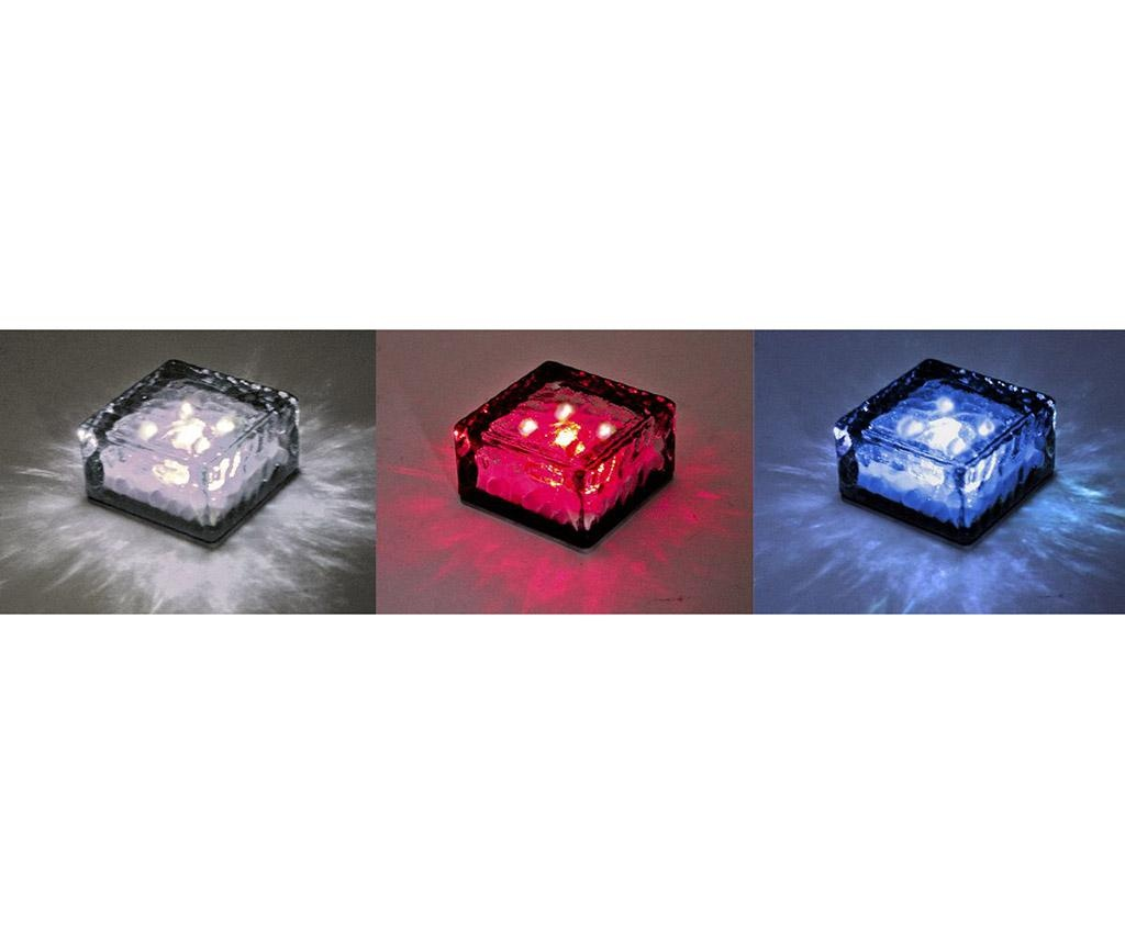 Set 3 lampi solare Ice Cube
