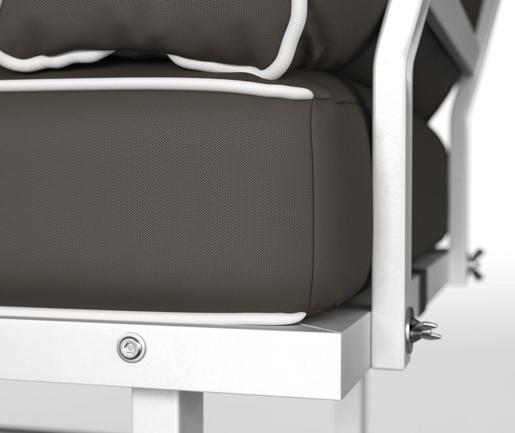 Sklopiva stolica za vanjski prostor Marco Taupe