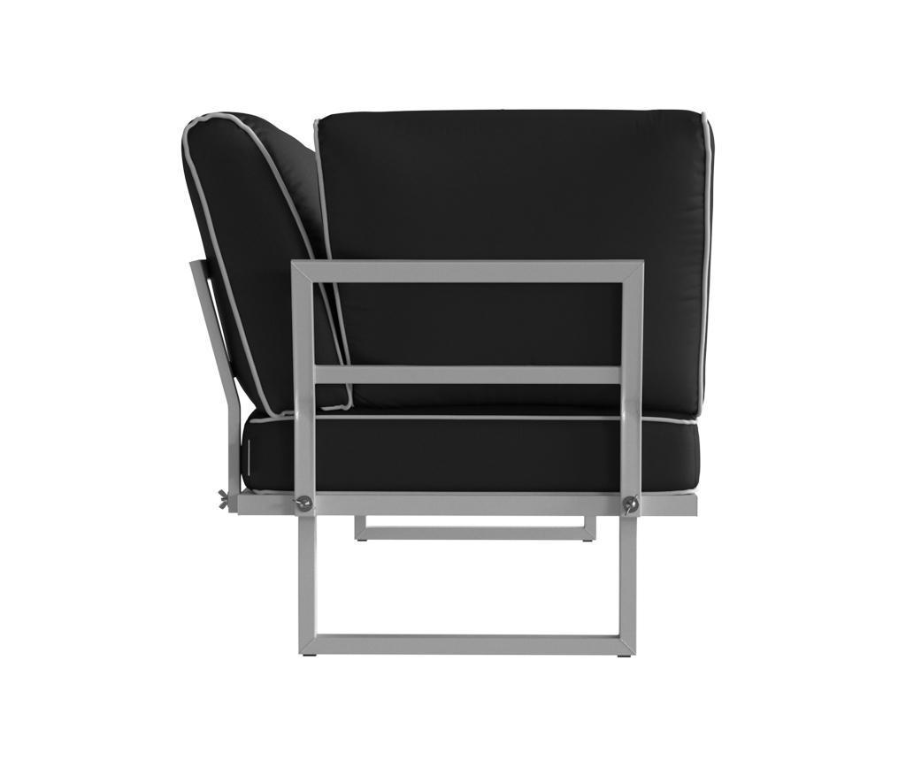 Sklopiva stolica za vanjski prostor Marco Anthracite