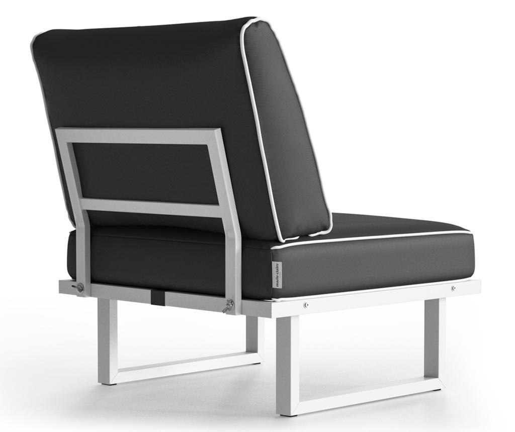 Stolica za vanjski prostor Samo Anthracite