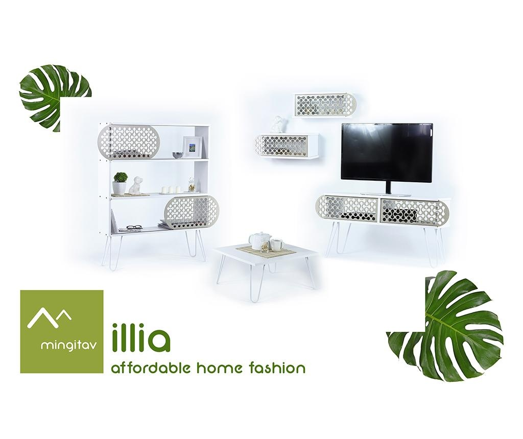 Comoda TV Illia White Shapes