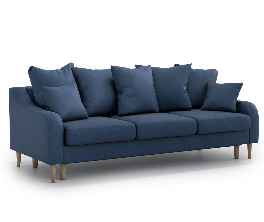 Canapea extensibila 3 locuri Benito Orinoco Dark Blue
