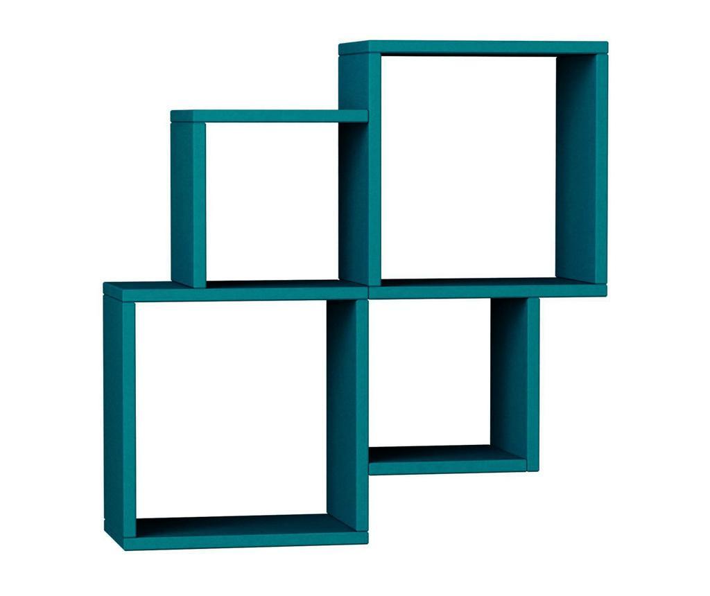 Raft de perete Oyo Turquoise