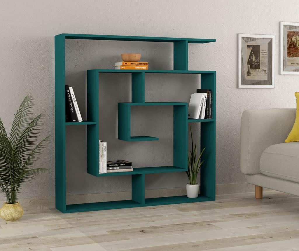 Biblioteca Maze Turquoise