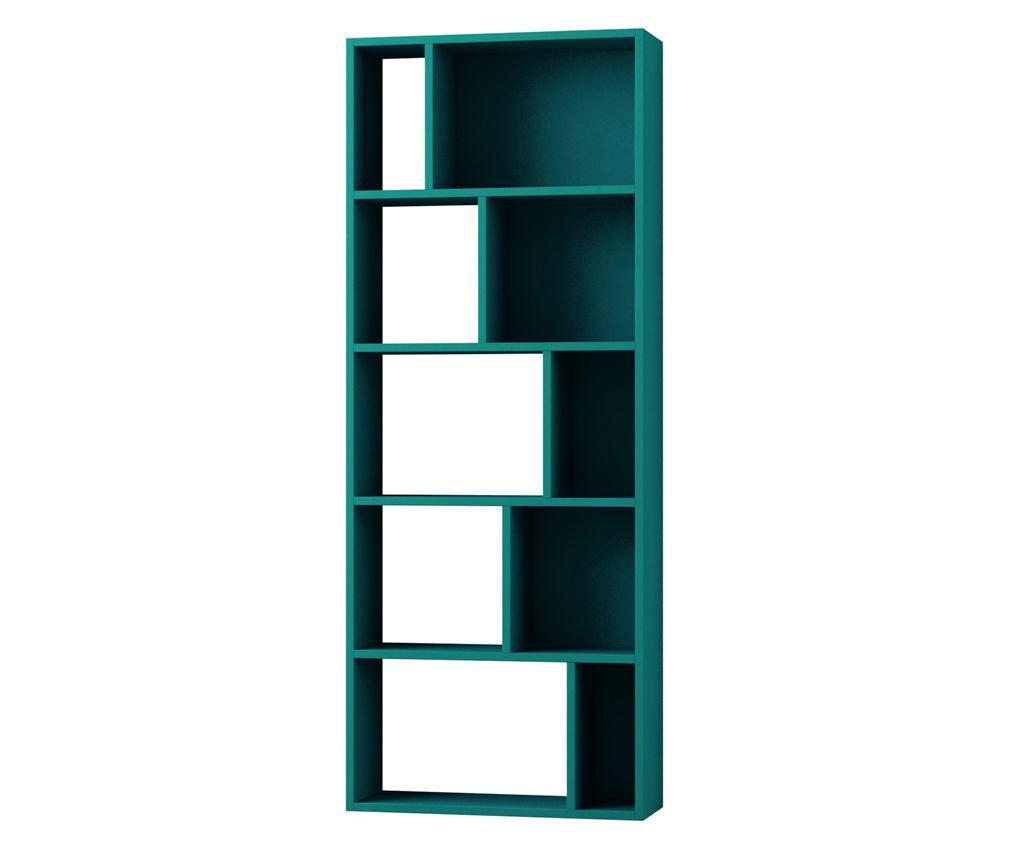 Biblioteca Onda Turquoise