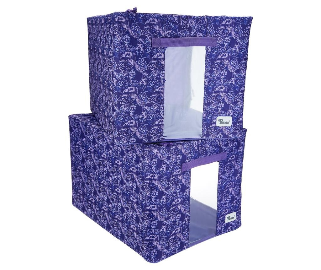 Set 2 organizatoare Lisa Purple