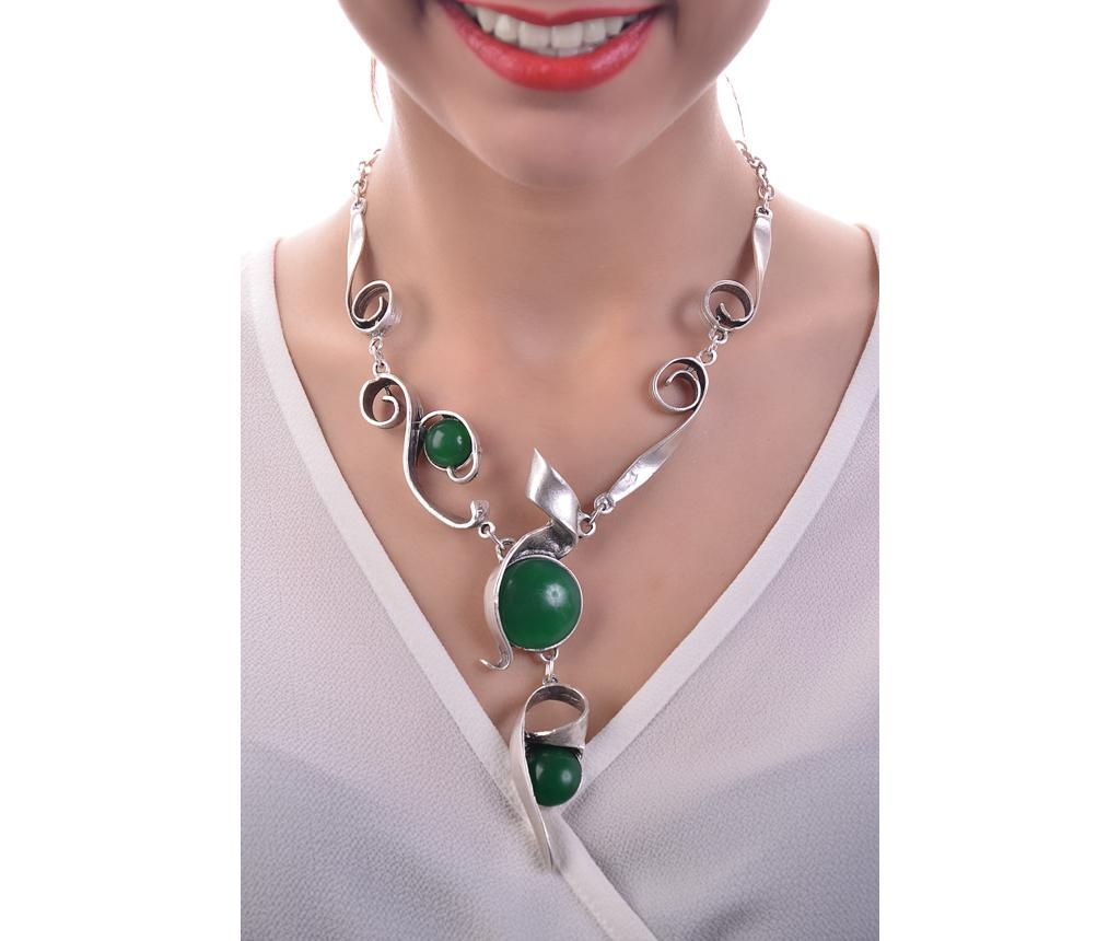 Colier Green Bead