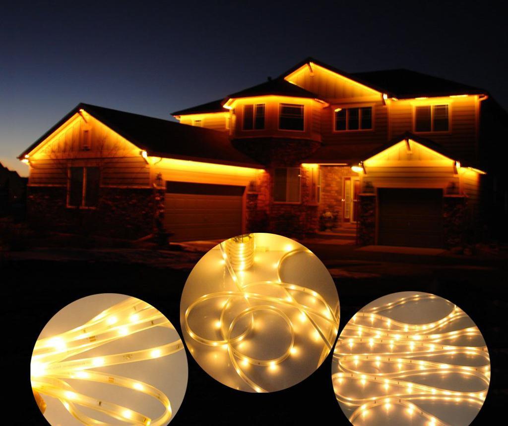 Ghirlanda luminoasa solara Strip