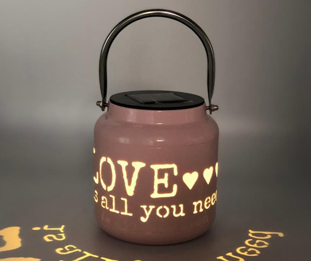 Lampa solara Sweet Love