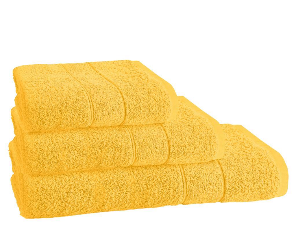 Prosop de baie Napoli  Yellow 70x140 cm