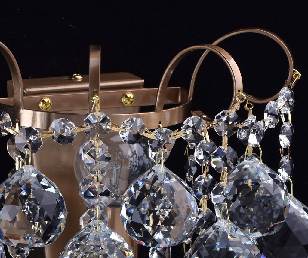 Stenska svetilka Pearl Honey Brass