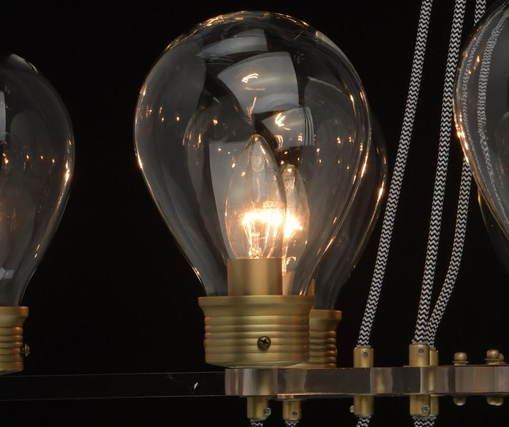 Candelabru Hamburg Bulbs