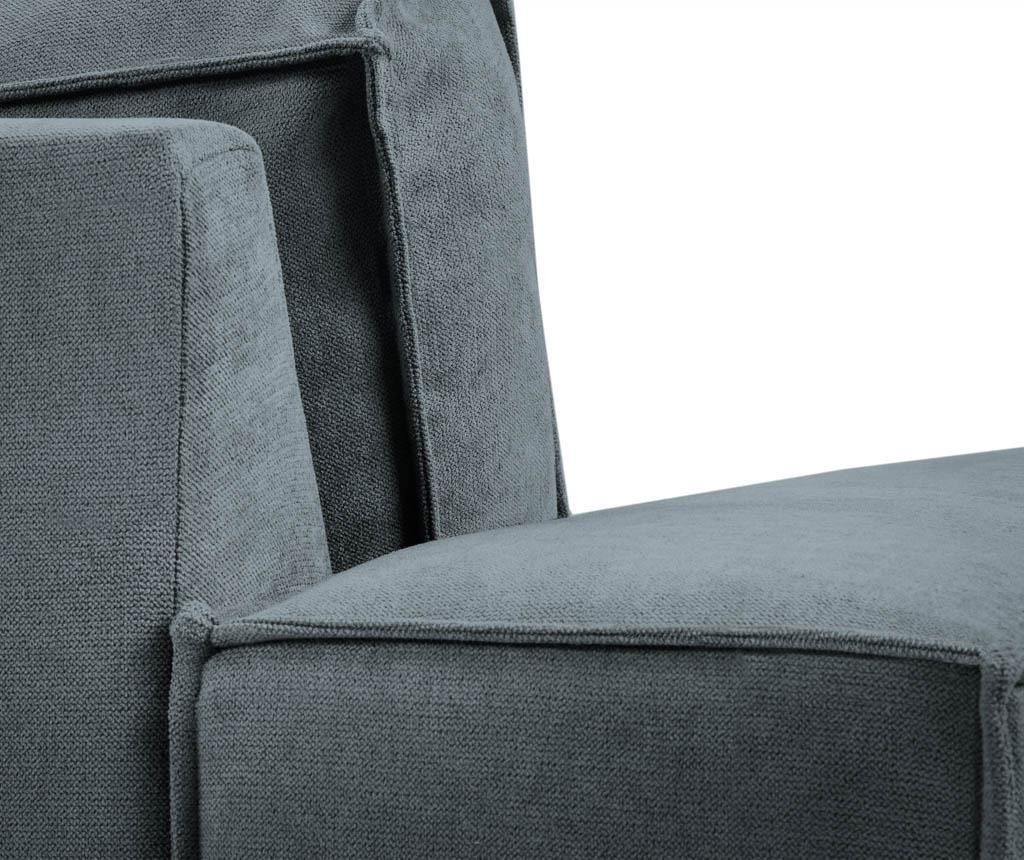 Canapea 3 locuri Modern Anthracite