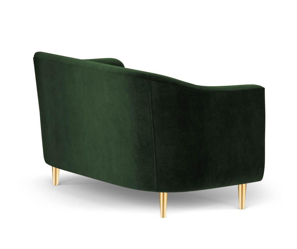 Sofa dvosjed Corde Bottle Green