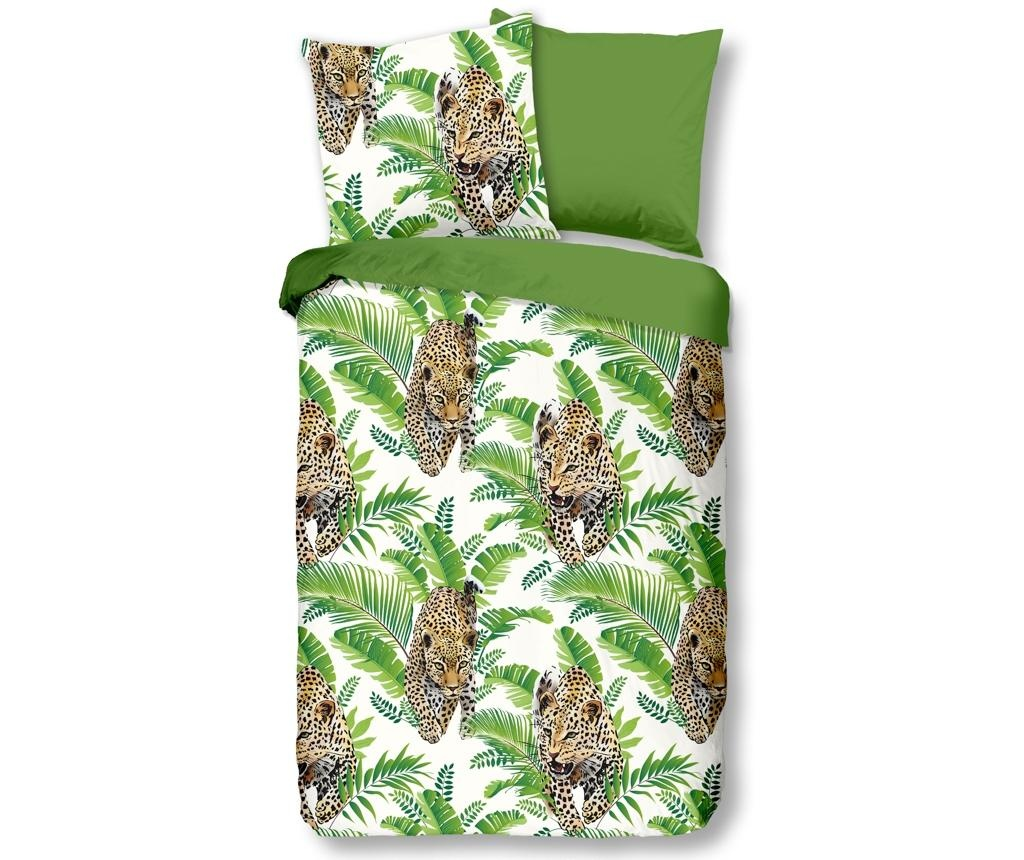Posteljnina King Jungle Green