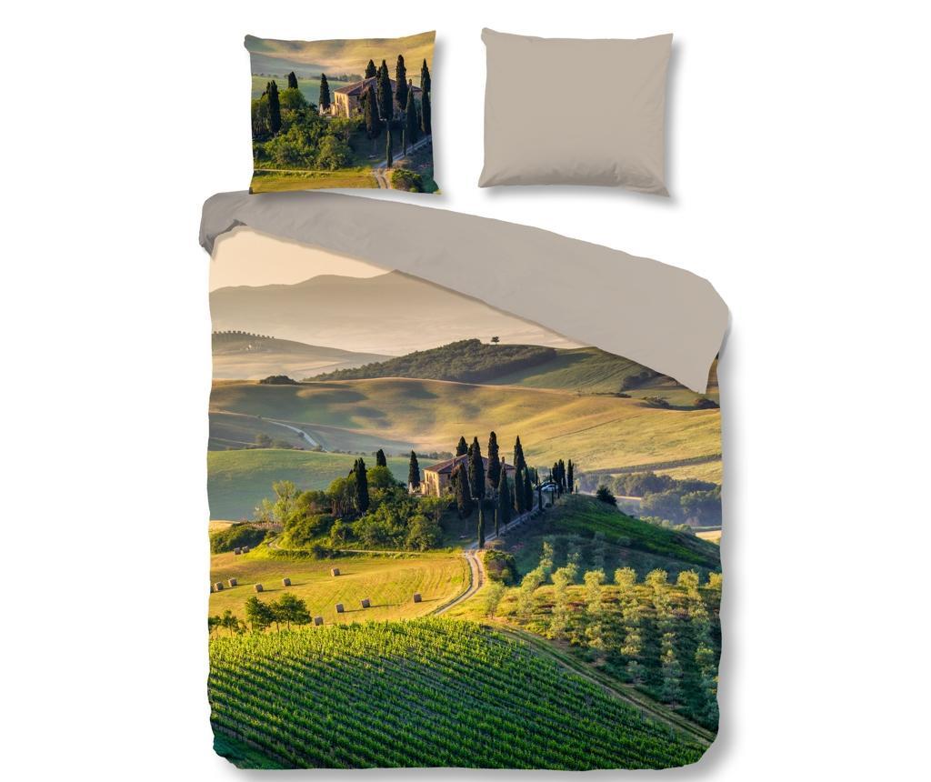 Posteljnina King Tuscan Green