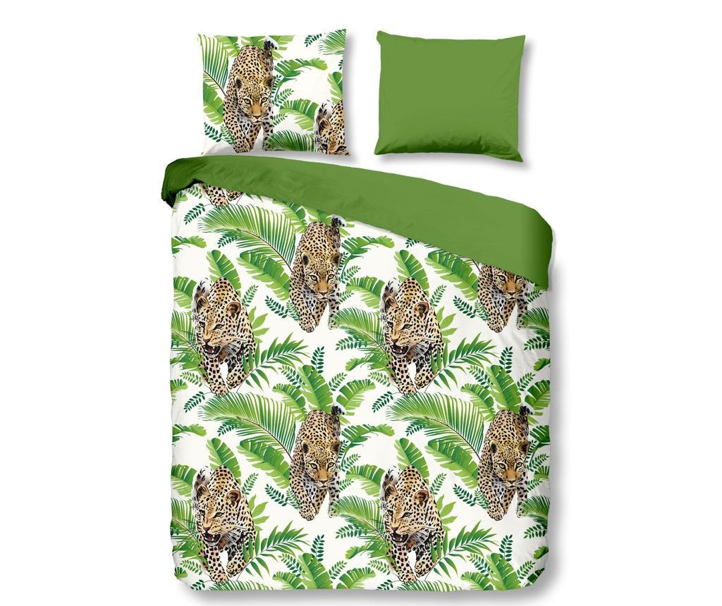Set de pat Double Jungle Green