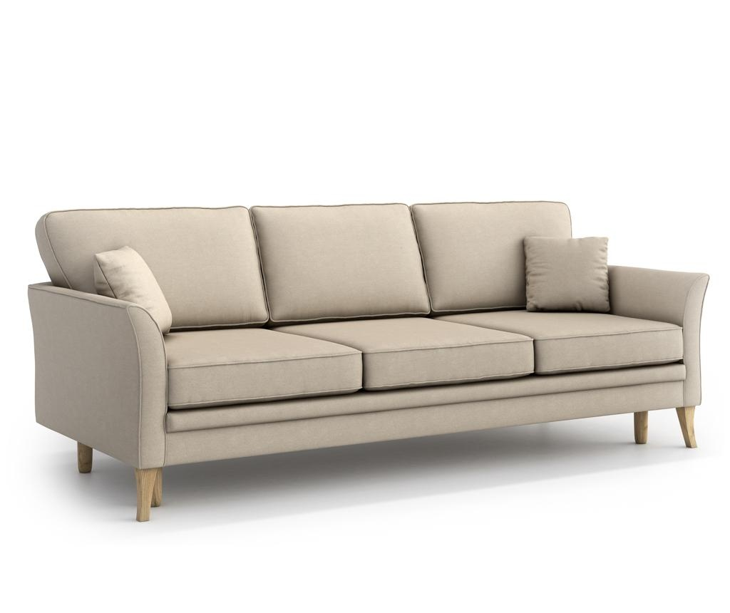 Canapea extensibila 3 locuri Juliett Beige