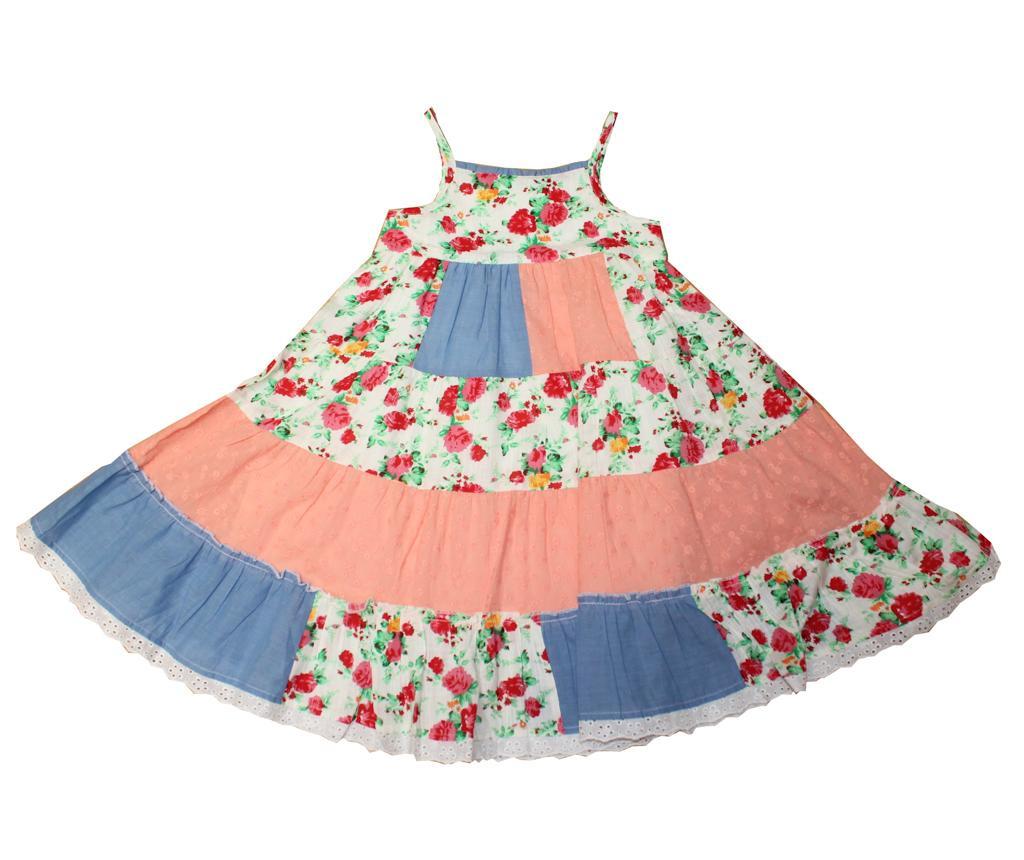 Otroška obleka Print 6-7 let