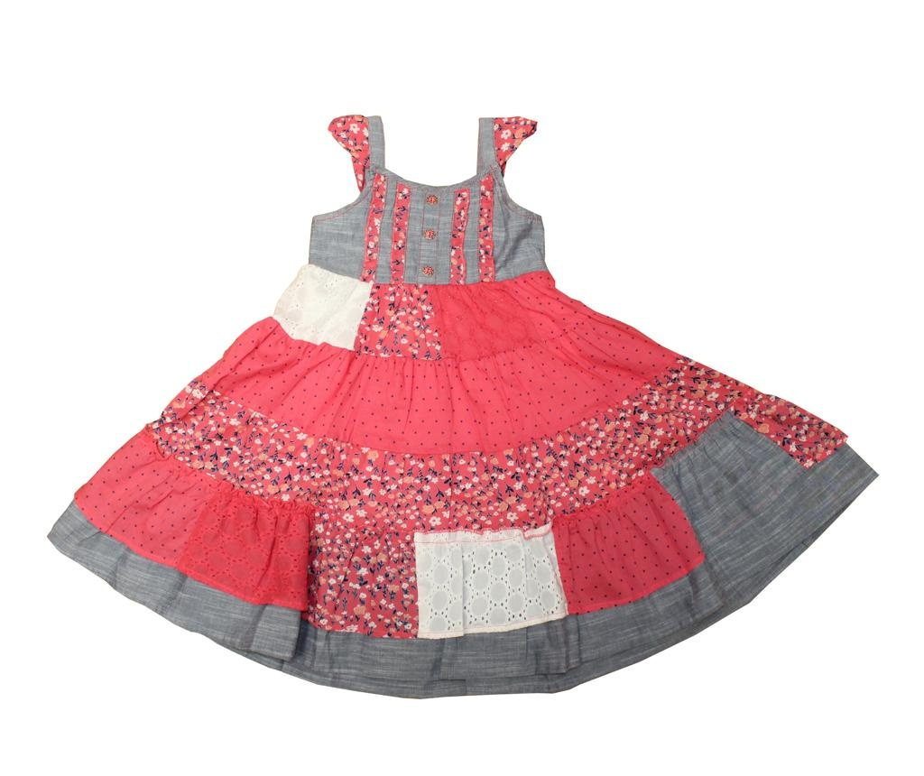 Otroška obleka Denim Chest 7-8 let