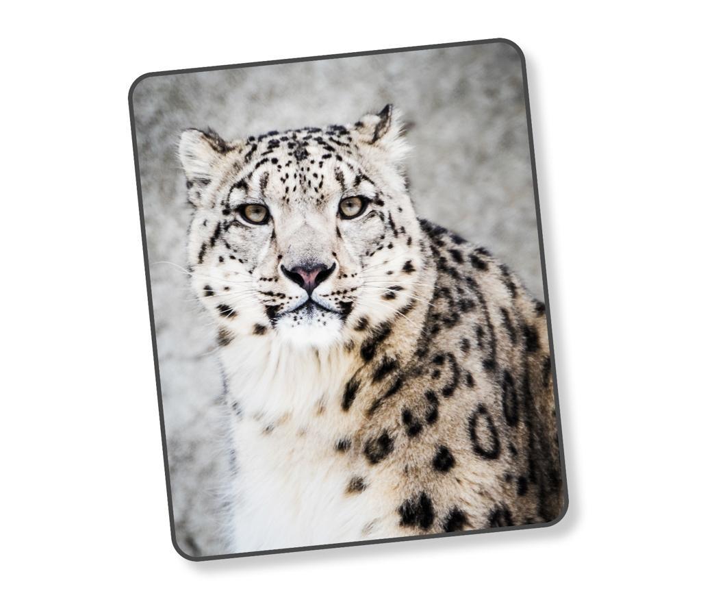 Priročna odeja Snow Leopard Grey 130x160 cm