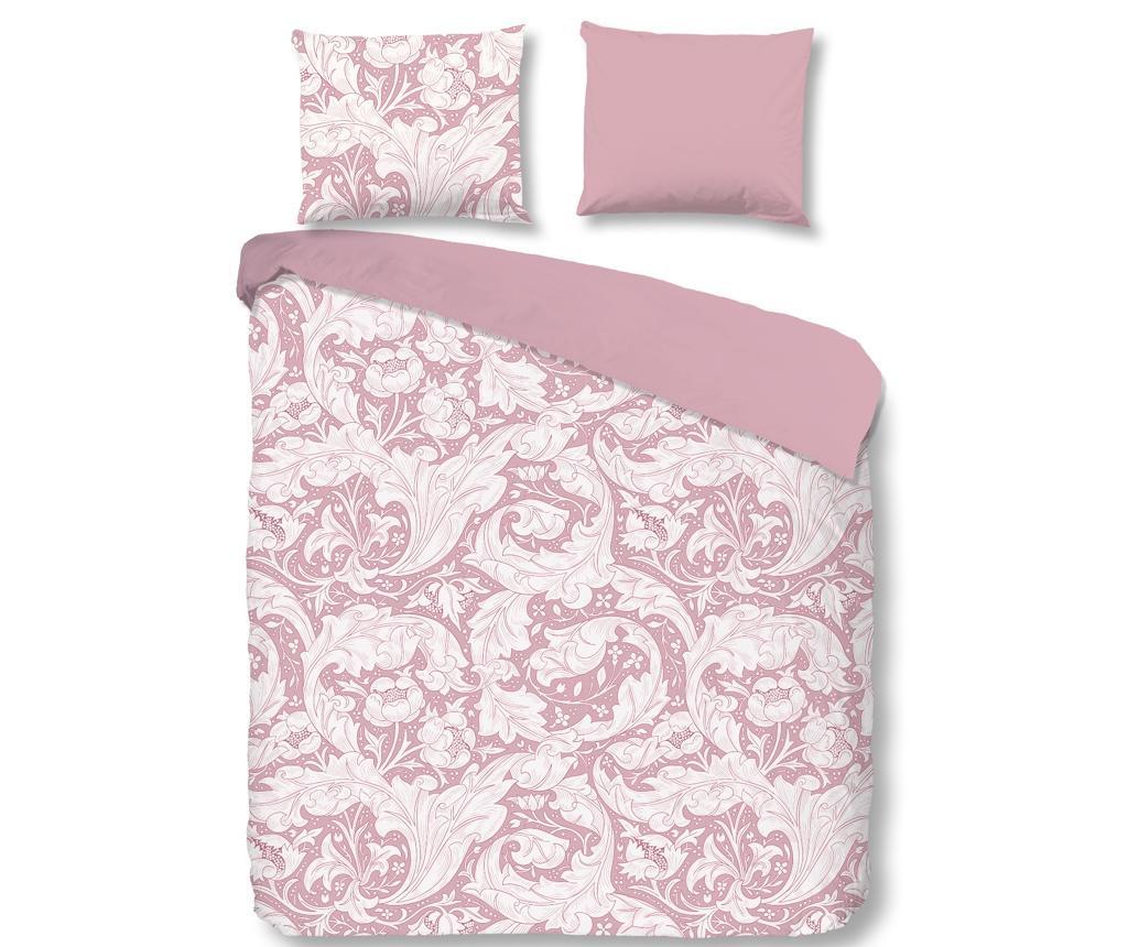 Posteljnina Single Sateen Birza Pink