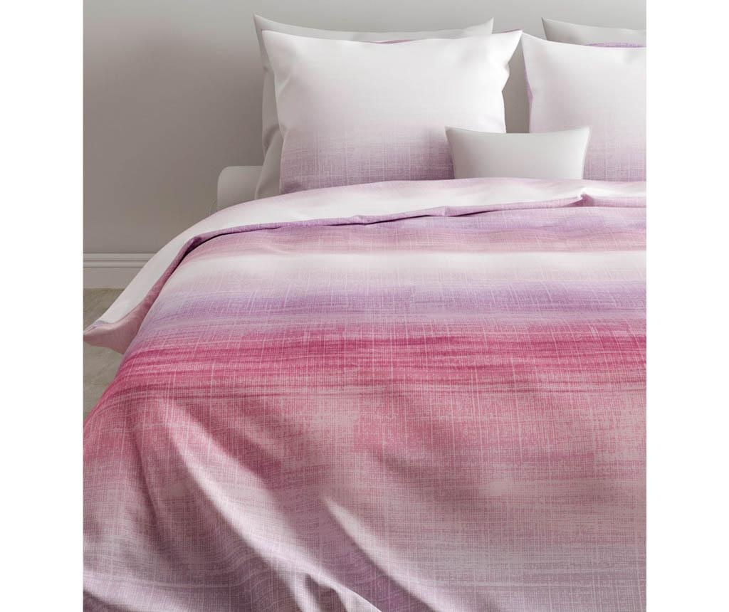 Set de pat Double Ranforce Mia Pink