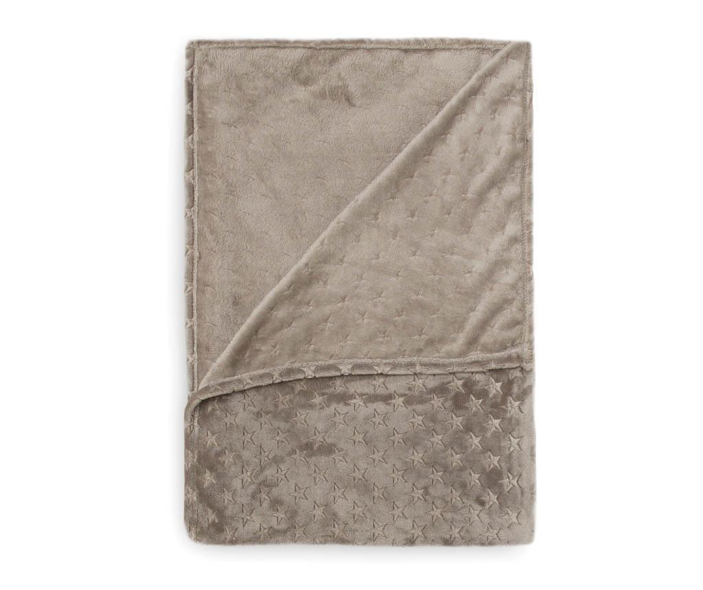 Pokrivač Zain Anthracite 140x220 cm