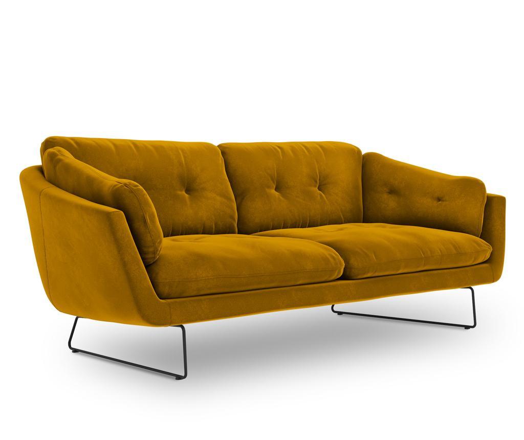 Kauč trosjed Gravity Yellow